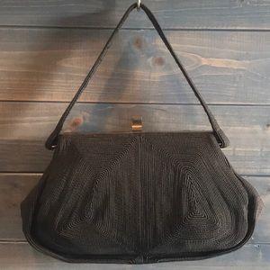 A. Blatt 1940's Vintage Stunning Brown Bag